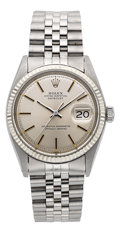 Timepieces:Wristwatch, Rolex Ref. 1601 Gent's Steel Oyster Perpetual Datejust, circa 1971....