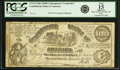Confederate Notes:1861 Issues, Confederate States of America - CT13 $100 1861 CT13/56B. PCGS Fine 15 Apparent.. ...