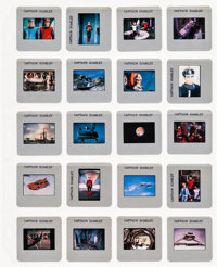 """Captain Scarlet and the Mysterons (ITV, 1967). Color Slides (20) (2"""" X 2"""" With Original Holders). Action..."""