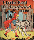 "Big Little Book:Humor, Little Red Ridinghood ""Pop-Up"" Book (Blue Ribbon Press,1934) Condition: FN...."