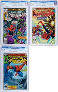 Modern Age (1980-Present):Superhero, The Amazing Spider-Man #180, 200, and 239 CGC-Graded Group (Marvel,1978-83).... (Total: 3 Comic Books)