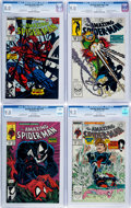 Modern Age (1980-Present):Superhero, The Amazing Spider-Man #298 and 315-317 CGC-Graded Group (Marvel,1988-89).... (Total: 4 Comic Books)