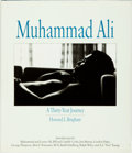 Books:Biography & Memoir, Muhammad Ali, subject. Howard L. Bingham, author. SIGNED.Muhammad Ali: A Thirty-Year Journey. New York: Simon&...