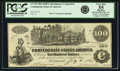 Confederate Notes:1862 Issues, Confederate States of America - CT39 $100 1862 CT39/290A. PCGS VeryFine 35 Apparent.. ...