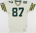 Football Collectibles:Uniforms, 1985-86 Walter Stanley Game Worn Green Bay Packers Jersey....
