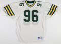 Football Collectibles:Uniforms, 1991 Shawn Patterson Game Worn Green Bay Packers Jersey....
