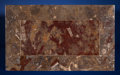 Lapidary Art:Tables / Tabletops, Fossil Coffee Table. Orthoceras sp. and Agoniatites sp.. Devonian. Atlas Mountains, Morocco. ... (Total: 2 Items)