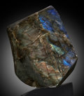 Lapidary Art:Carvings, Labradorite. Antsohamay Quarry, Tulear Prov., Madagascar....
