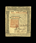 Colonial Notes:Pennsylvania, Pennsylvania April 3, 1772 40s Very Fine-Extremely Fine. Awell-printed, beautifully signed example of a rather rare note.A...