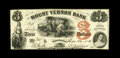 Obsoletes By State:Rhode Island, Providence, RI- Mount Vernon Bank $3 Nov. 22, 1858 G56 Durand 1687. This attractive issued note boasts perfectly original si...