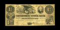 Obsoletes By State:Michigan, Ann Arbor, MI- Government Stock Bank $1.50 March 1, 1853 G5a. We have only handled this denomination once before. The desig...