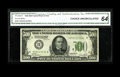 Small Size:Federal Reserve Notes, Fr. 2200-H $500 1928 Federal Reserve Note. CGA Choice Uncirculated 64.. This is a very well margined type note with embossin...