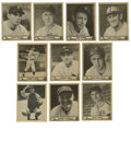 Autographs:Baseballs, 1939-40 Play Ball Group Lot of 10. Here we offer ten fine cardsfrom the 1939-40 Play Ball issues that feature black and wh...