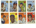 Baseball Cards:Lots, 1954 Topps Baseball Group Lot of 65. From the extremely popular '54Topps issue we present the current offering of 65 cards...