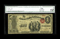 Geneseo, NY - $1 Original Fr. 380 The Genesee Valley NB Ch. # 886 An evenly circulated and nicely margined ace with the...