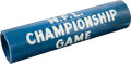 Football Collectibles:Others, 1959 NFL Championship Game Used Goal Post Piece....
