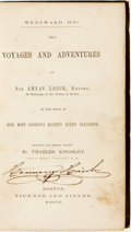 Books:Travels & Voyages, [Travel]. Charles Kingsley, translator. Westward Ho! The Voyages and Adventures of Sir Amyas Leigh, Knight, of Burrough,...