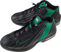 Basketball Collectibles:Others, 2000s Paul Pierce Game Worn Boston Celtics Sneakers. ...