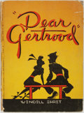 "Books:Art & Architecture, [Cartoons]. Wendell Ehret. ""Dear Gertrood"". Introduction by Gertrude Rubin. New York: Robert M. McBride & Co..."