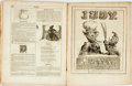 Books:Periodicals, [Bound Periodicals]. Seven Bound Issues of Judy. New York:Burgess, Stringer and Company, [1847]. ...