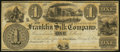 Obsoletes By State:Ohio, Franklin, OH- Franklin Silk Company $1 18__ Remainder Wolka1124-01. ...