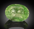 "Gems:Faceted, Rare Gemstone: ""Electric"" Hyalite Opal - 3.93 Ct.. Zacatecas,Mexico . ..."