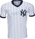 Baseball Collectibles:Uniforms, 1980's Jackie Mitchell Gilbert Signed New York Yankees Jersey....