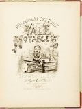 Books:Art & Architecture, [Caricature]. [Charles Holmes Goodman]. Pen and Ink Sketches of Yale Notables by Squills. St. Louis:...