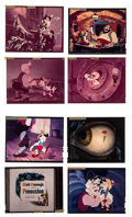 """Movie Posters:Animation, Pinocchio (Buena Vista, 1960s). Eastman Kodak Safety Color Transparencies (16) (4"""" X 5""""). Animation.. ... (Total: 16 Items)"""