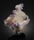 Minerals:Cabinet Specimens, Witherite. Minerva No. 1 Mine, Ozark-Mahoning Group,Cave-in-Rock Sub-District, Illinois -Kentucky Fluorspar District,Har...