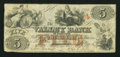 Obsoletes By State:Maryland, Hagerstown, MD- Valley Bank $5 Apr. 1, 1856. ...