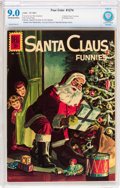 Silver Age (1956-1969):Miscellaneous, Four Color #1274 Santa Claus Funnies (Dell, 1961) CBCS VF/NM 9.0 Off-white to white pages....