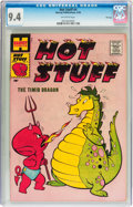 Silver Age (1956-1969):Humor, Hot Stuff, the Little Devil #4 File Copy (Harvey, 1958) CGC NM 9.4 Off-white pages....