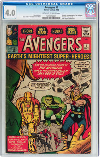 The Avengers #1 (Marvel, 1963) CGC VG 4.0 Off-white to white pages