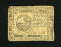 Colonial Notes:Continental Congress Issues, Continental Currency November 2, 1776 $6 Very Fine. A single heavycenter fold and a light corner fold are all that are foun...