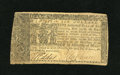 Colonial Notes:Maryland, Maryland April 10, 1774 $6 Very Fine. The center fold is thehardest fold on this note that has a few bottom edge nicks....