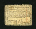 Colonial Notes:Massachusetts, Massachusetts May 5, 1780 $20 Fine. Here is a scarce uncancelledexample of this issue. Several tears are noticed with the l...