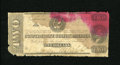 Confederate Notes:1863 Issues, T61 $2 1863. Two large moisture stains, both of different colors,are found on this Deuce that has frayed edges. About Goo...