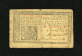 Colonial Notes:New Jersey, New Jersey March 25, 1776 1s Very Fine. This is a very broadlymargined note with a couple of small splits along its vertica...