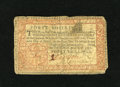 Colonial Notes:Pennsylvania, Pennsylvania April 10, 1777 40s Fine. This interesting note has ahole near the top and it has been backed with a piece of c...