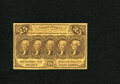 Fractional Currency:First Issue, Fr. 1281 25c First Issue Choice New. This is a closely trimmed example that is highly desirable....