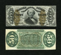 Fractional Currency:Third Issue, Fr. 1331SP 50c Third Issue Spinner Narrow Margin Specimen Pair Choice New. Here is a face and back pair with no trace of shi... (Total: 2 notes)