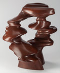 Post-War & Contemporary:Sculpture, Tony Cragg (British, b. 1949). Outlook, 2008. Bronze withbrown patina. 22 x 21-1/2 x 18 inches (55.9 x 54.6 x 45.7 cm)...