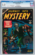 Golden Age (1938-1955):Horror, Journey Into Mystery #11 (Atlas, 1953) CGC VG/FN 5.0 Off-whitepages....