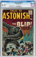 Silver Age (1956-1969):Horror, Tales to Astonish #15 (Marvel, 1961) CGC FN 6.0 Off-white to whitepages....