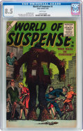 Silver Age (1956-1969):Horror, World of Suspense #2 (Atlas, 1956) CGC VF+ 8.5 White pages....