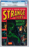 Golden Age (1938-1955):Horror, Strange Tales #18 (Atlas, 1953) CGC FN- 5.5 Off-white to whitepages....