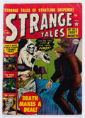 Golden Age (1938-1955):Horror, Strange Tales #13 (Atlas, 1952) Condition: GD....