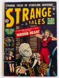 Golden Age (1938-1955):Horror, Strange Tales #10 (Atlas, 1952) Condition: FR/GD....