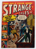 Golden Age (1938-1955):Horror, Strange Tales #9 (Atlas, 1952) Condition: GD/VG....
